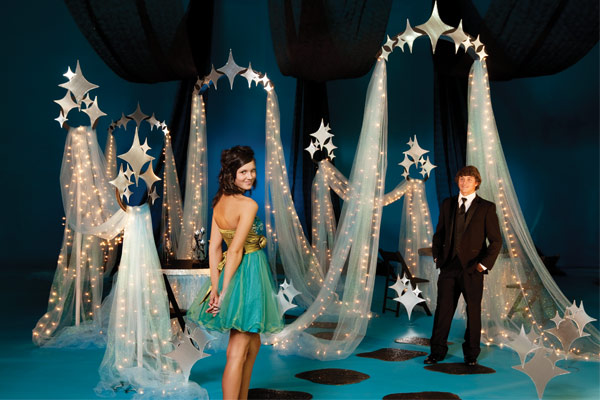 40 Creative Ways To Use Fabric For Prom Decorations Anderson's Blog Extraordinary Masquerade Ball Prom Decorations