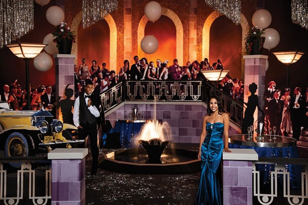 how to pull off an awesome gatsby prom theme