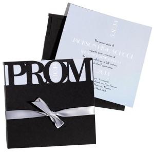 Anderson's Silver Prom Invitation