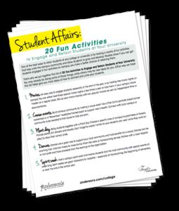 Anderson's 20 Fun Student Activities