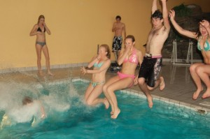 School Pool Party