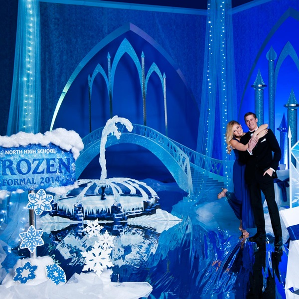 Forever Frozen Prom Theme Andersons