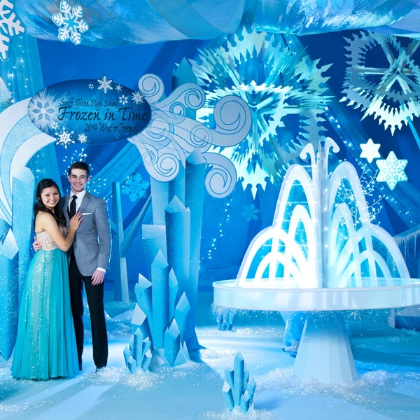 Frozen Prom Theme