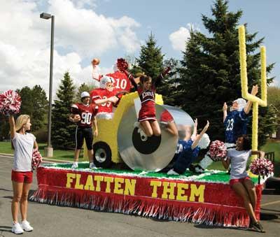 12 Fun Homecoming Parade Float Ideas | Anderson's Blog
