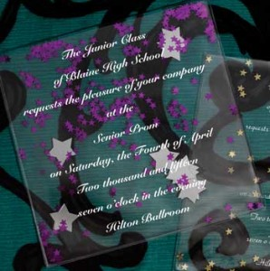 Andersons Prom Confetti Invitation Teen Pick