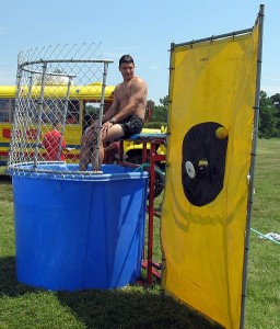 Andersons Prom Dunk Tank Fundraising Idea