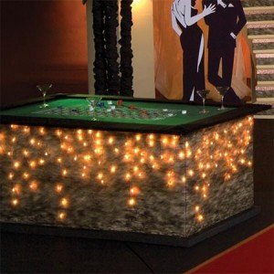 Andersons Prom Casino Theme Gaming Table