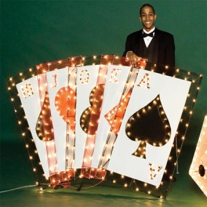 Andersons Prom Light-up Playing Cards