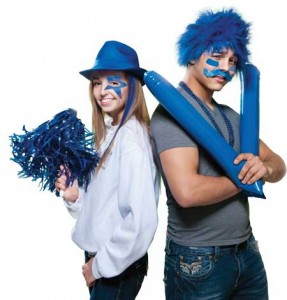 Stock up on Fan Gear and Spirit Rousers for pep rallies!