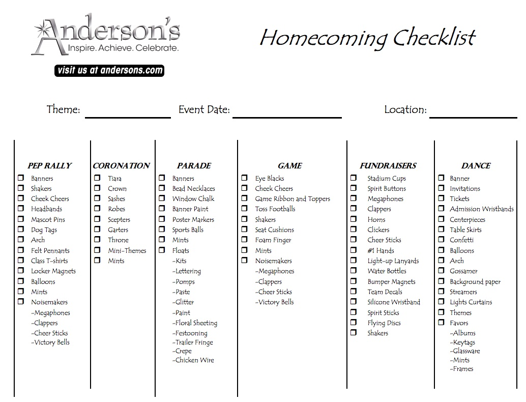 Christmas Homecoming Ideas.Anderson S Ultimate List Of Ideas For Spirit Week