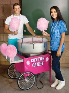 Cotton Candy Machine and Cart
