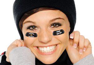 Custom School Spirit Wear Eye Blacks