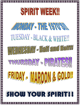 Spirit Week Ideas