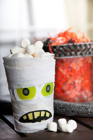 Mummy Cup Craft