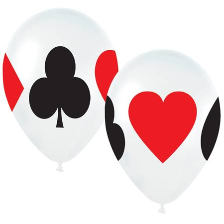 Card Suits Balloons