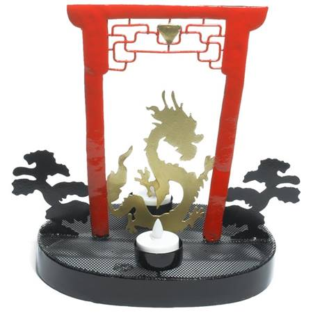 Torii & Dragon Centerpiece Set