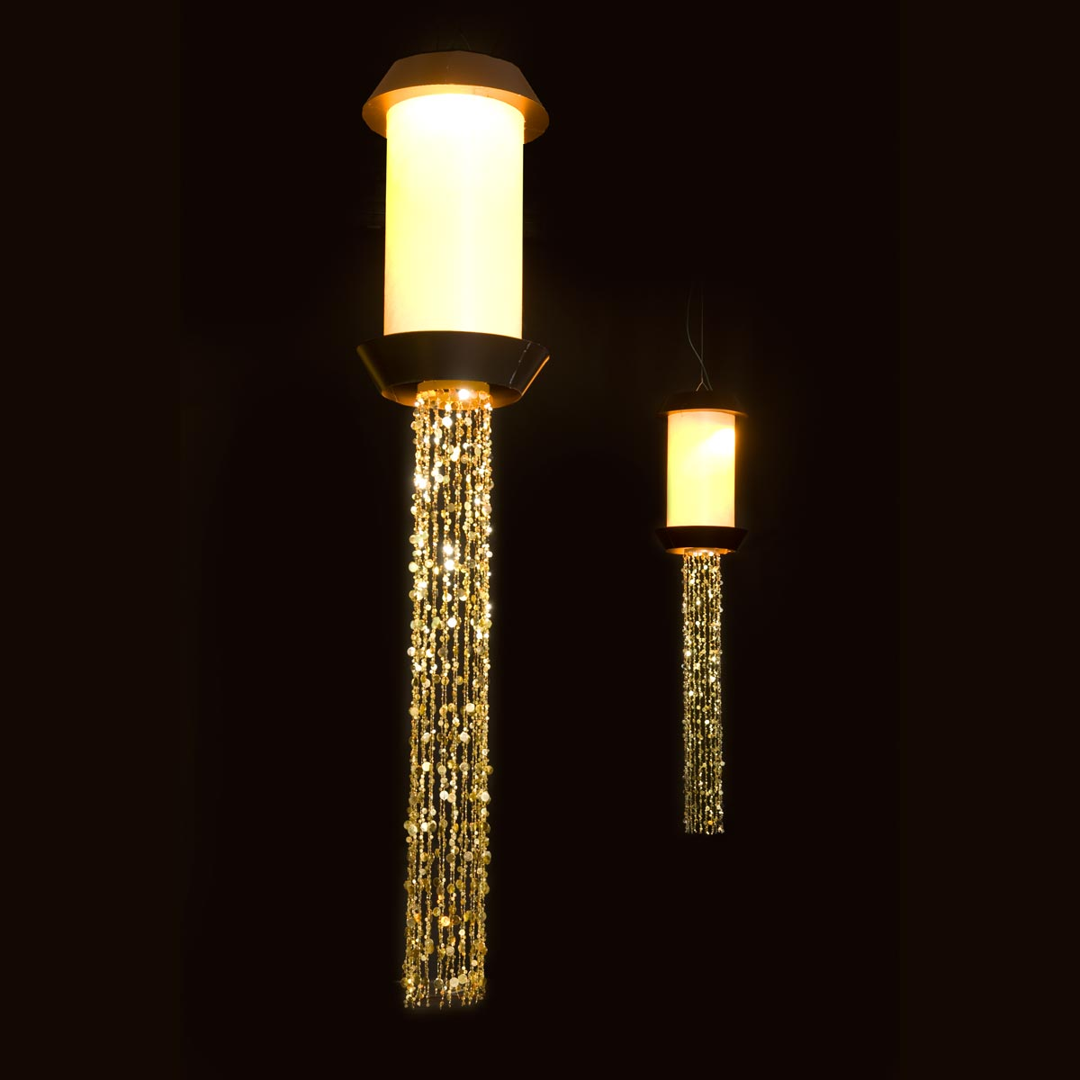 Gold Dust Rising Chandeliers Kit (set of 2)