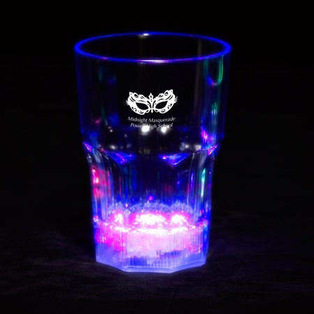 Blue LED Ice Water Glass