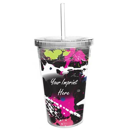 Tumbler with Full-color Insert - Prismatic