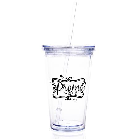 Prom 2016 Clear Tumbler