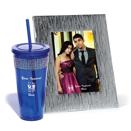 Bling Dazzle Tumbler and Frame Set
