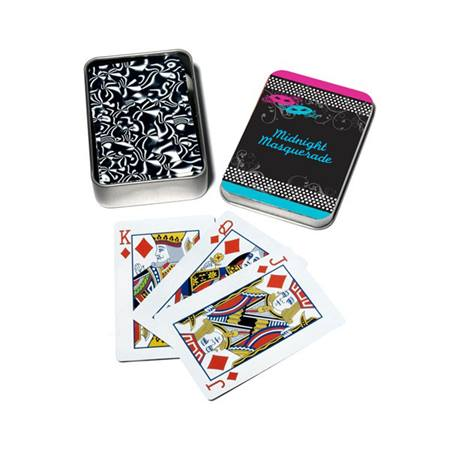 Full-color Playing Card Tins - Masquerade Mystique