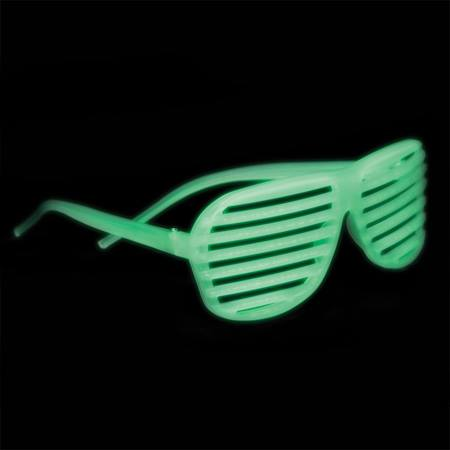 Glow Slotted Sunglasses