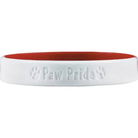 Laser Engraved Silicone Wristband – Paw Pride