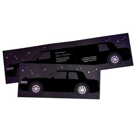Limo Ride Invitation