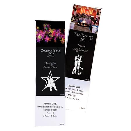 Full Color Theme Ticket