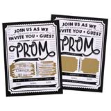 One Night Only Scratch-Off Invitation