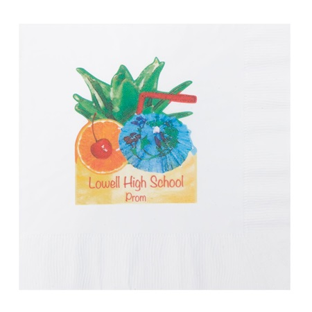 Tropical Punch Luncheon Napkin