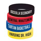 Large Screen Printed Wristbands