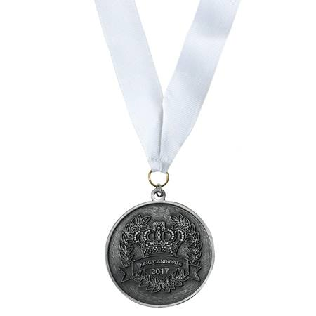 Silver King Candidate Medallion With Strap