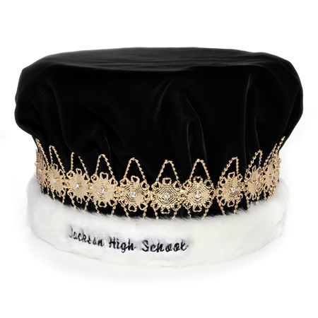 Custom Regal Crown with Gold Band