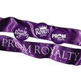 Prom Royalty Sash and Button Set