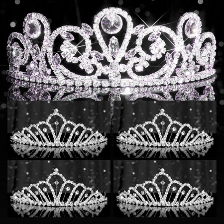 Tiara Set - Esmeralda Queen and Karen Court