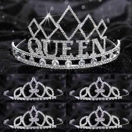 Tiara Set - Empress Queen and Francine Court