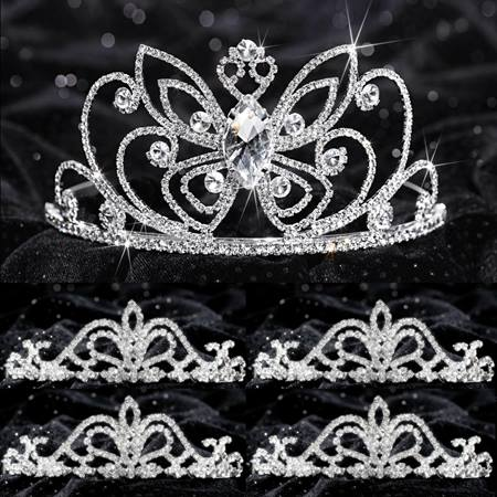 Tiara Set - Monarch Queen and Arilda Court