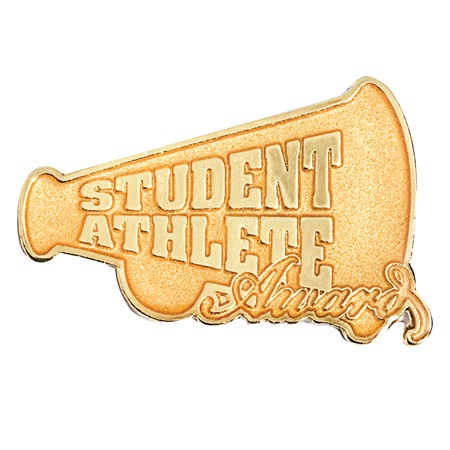Goldtone Student Athlete Sports Award Pin