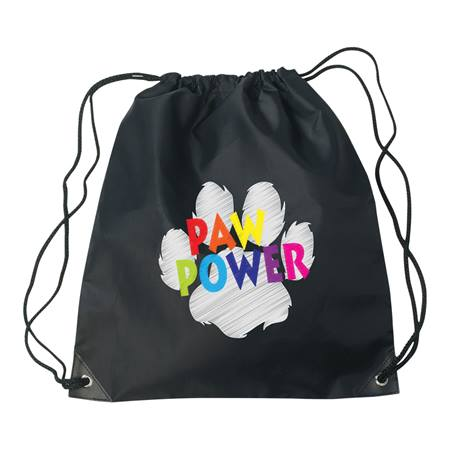Chalkboard Paw Backpack