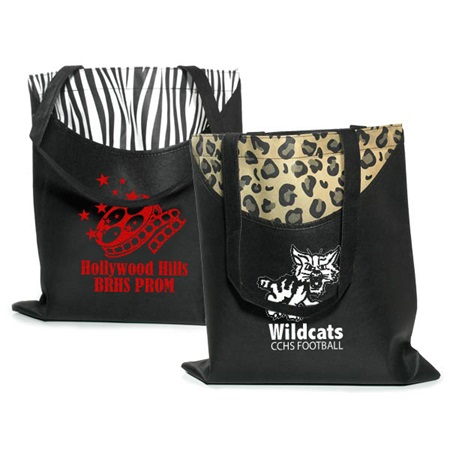 Poly Pro Printed Scoop Tote