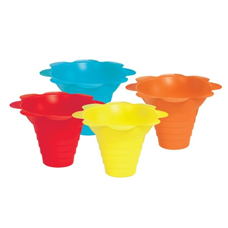 Flower Drip Sno Cone Tray Cups (4 oz)