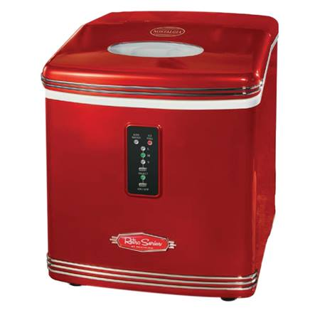 Retro Style Automatic Ice Maker