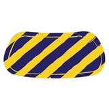 Blue/Gold Diagonal Stripe EyeBlacks