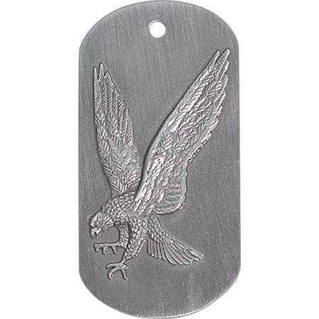 Embossed Dog Tag - Falcon
