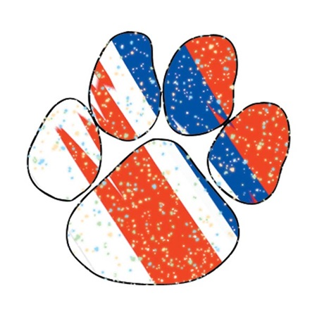 Patriotic Paw Temporary Tattoo