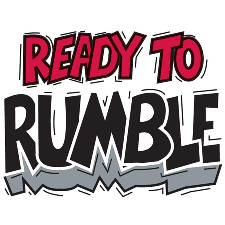 Ready to Rumble Temporary Tattoo