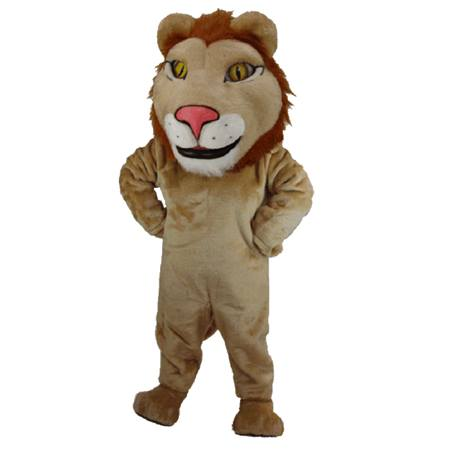 Noble Lion Mascot Costume