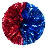 Metallic Half and Half Pom, 10 in.